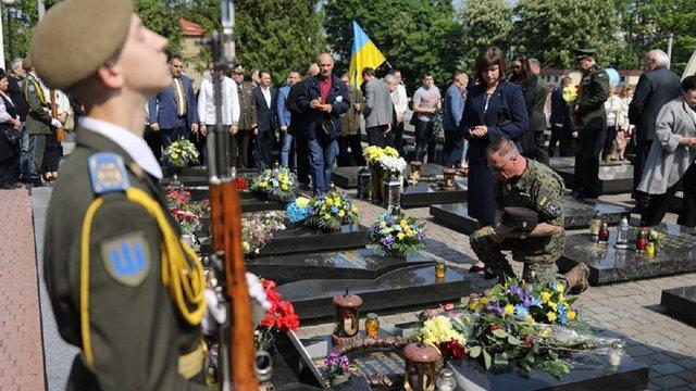 Сьогодні Львів відзначає День Героїв, які віддали життя за волю України