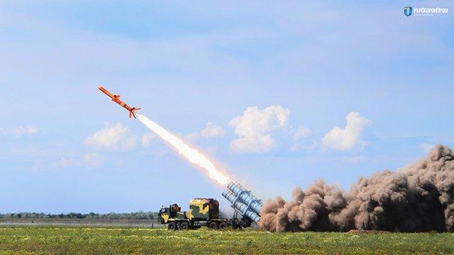 На Одещині випробували новий ракетний комплекс «Нептун-360» з крилатою ракетою