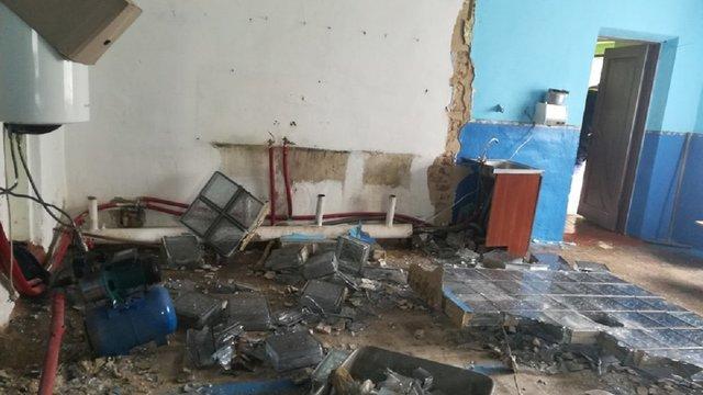У селі на Львівщині унаслідок обвалу стіни в школі травмувалося двоє людей