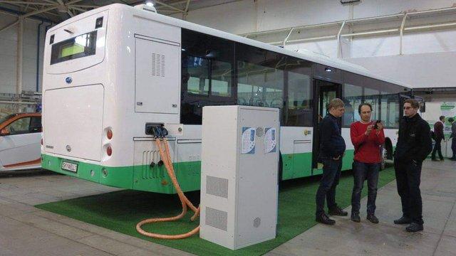 Китайська компанія вироблятиме в Україні електроавтобуси