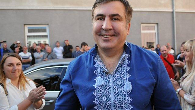 Михеїл Саакашвілі заявив, що немає жодних політичних амбіцій в Україні