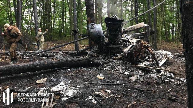 На Рівненщині розбилися бродівські вертолітники, четверо загиблих