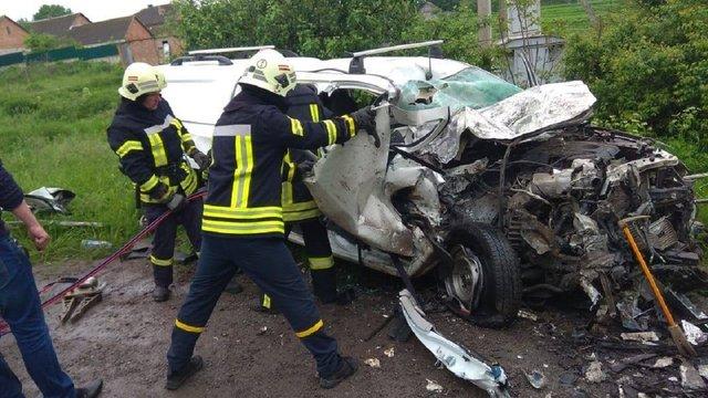 В ДТП на Тернопільщині загинули троє людей