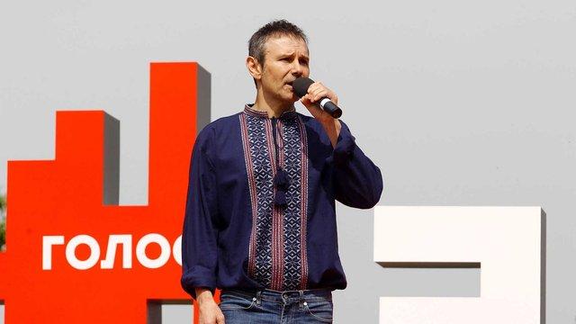 Святослав Вакарчук хоче запатентувати гасло «Слава – країні!»
