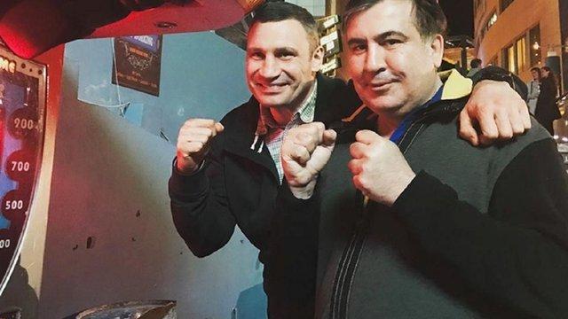 Кличко запропонував Саакашвілі стати главою партії УДАР