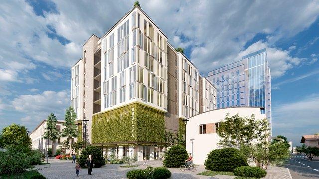 На території «Кінескопу» збудують офісний центр з багаторівневим паркінгом