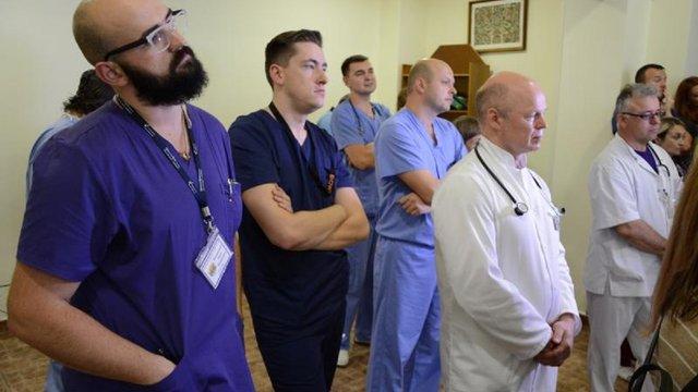 У Львові шість днів працюватиме команда медиків зі США