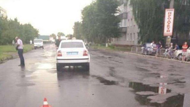У Конотопі автівка начальника поліції збила дитину на пішохідному переході