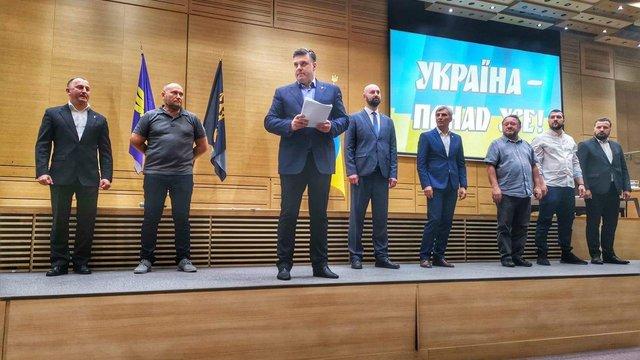 Виборчий список ВО «Свобода» очолили Тягнибок, Білецький і Ярош