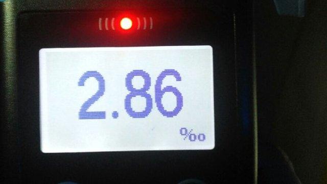 Львівські патрульні виявили водія з перевищенням у понад 14 разів норми алкоголю в крові