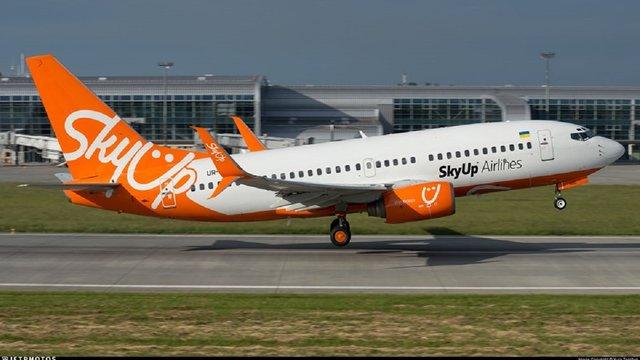 Авіакомпанія SkyUp оголосила про початок польотів зі Львова до Києва