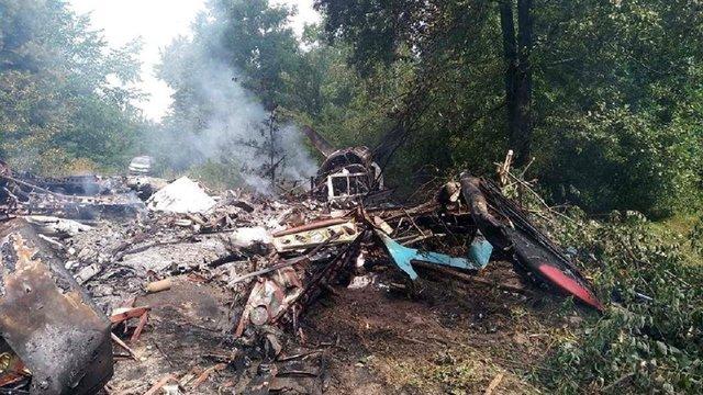 У Полтавській області згорів літак АН-2 після аварійної посадки