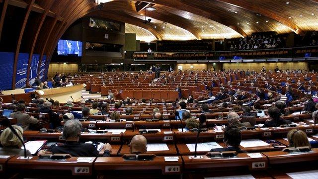 Українська делегація заявила про призупинення участі у роботі ПАРЄ