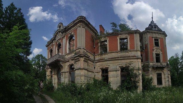 Волонтери взялися за порятунок палацу у Тартакові на Львівщині