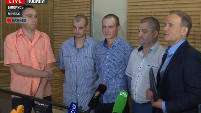 Бойовики звільнили чотирьох полонених українців