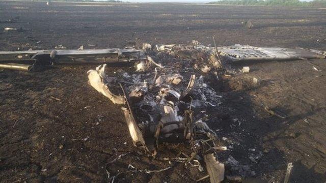 Під Харковом під час навчання розбився військовий літак