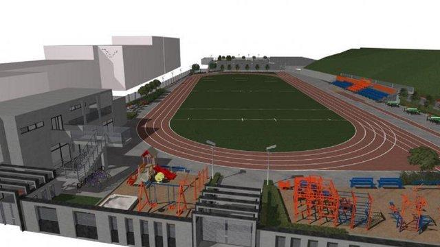 Львівська мерія опублікувала візуалізацію майбутнього спорткомплексу на Кастелівці