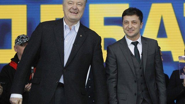 Зеленський запропонував люструвати Порошенка та екс-високопосадовців з його команди