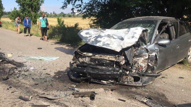 На Миколаївщині в ДТП загинув 10-річний хлопчик, якого батько посадив за кермо автомобіля