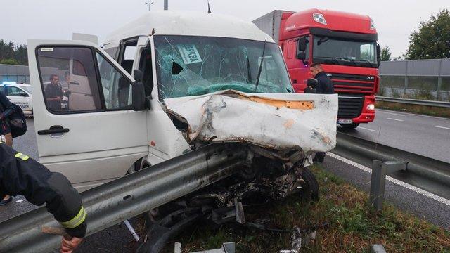 У ДТП за участі автобуса «Львів-Київ» загинули троє людей
