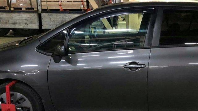 Прикордонники виявили на українсько-польському кордоні викрадений автомобіль