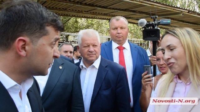 Зеленський та голова облради на Миколаївщині посперечались через «малороса»