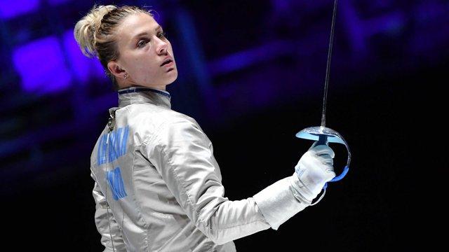 Українка Ольга Харлан виграла золото чемпіонату світу з фехтування