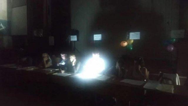 У Рівному деякі виборчі дільниці призупинили роботу через відсутність світла