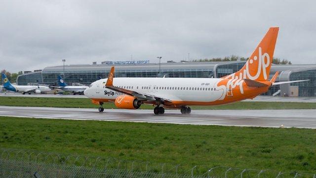 SkyUp планує тричі на тиждень літати зі Львова до Тель-Авіва