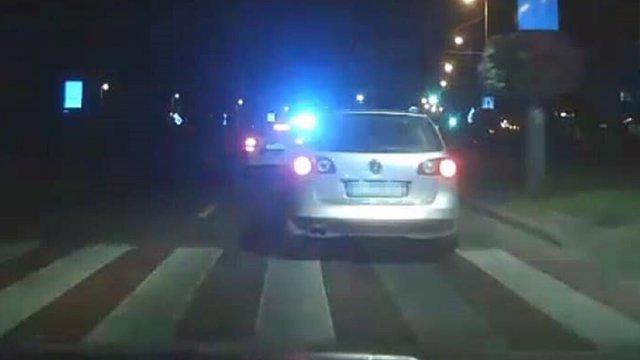 На Сихові патрульні влаштували погоню за водієм у стані наркотичного сп'яніння