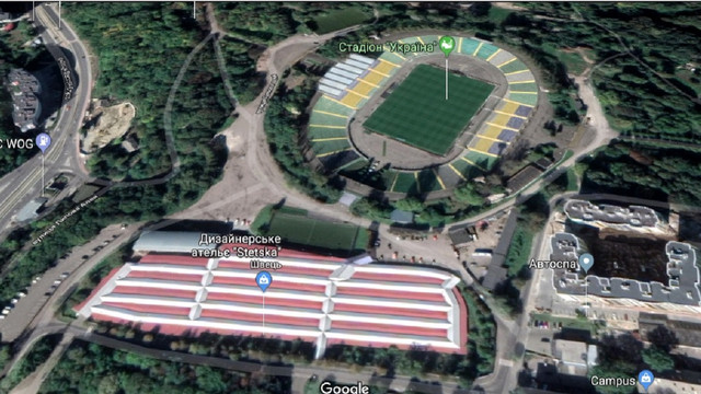 На місці базару біля стадіону «Україна» збудують одинадцять багатоповерхівок