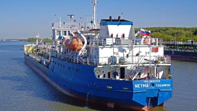 Екіпаж затриманого в Ізмаїлі російського танкера не прибуватиме на допити в Україну
