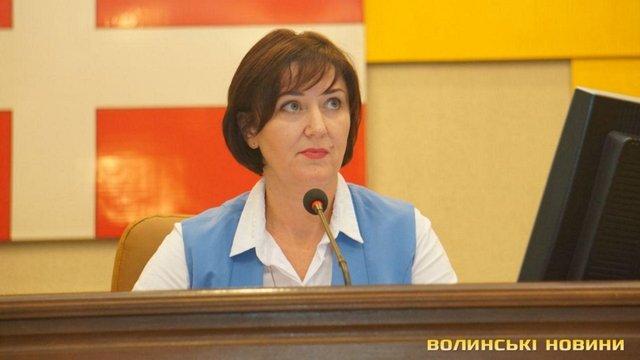 Головою Волинської облради замість Ігоря Палиці стала його колега по партії УКРОП