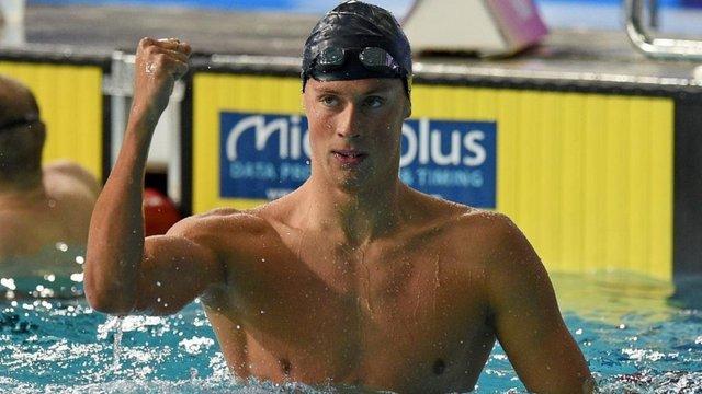 Українець здобув срібну медаль чемпіонату світу з плавання
