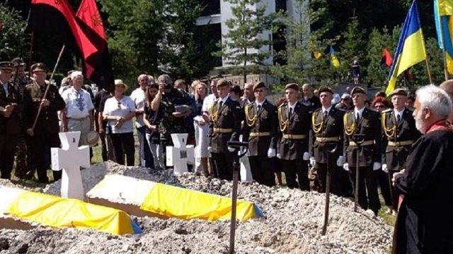 На Львівщині перепоховали останки 29 вояків дивізії «Галичина»