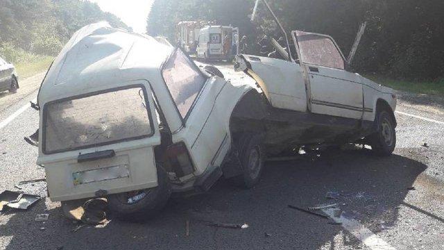 Біля Новояворівська у подвійному зіткненні автівок загинув 38-річний водій
