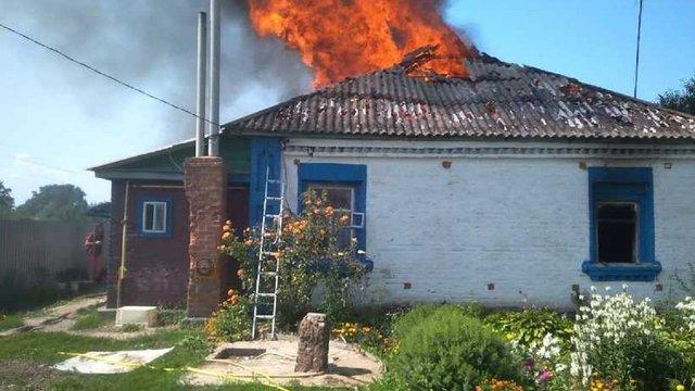 На Київщині двоє маленьких дітей загинули в пожежі