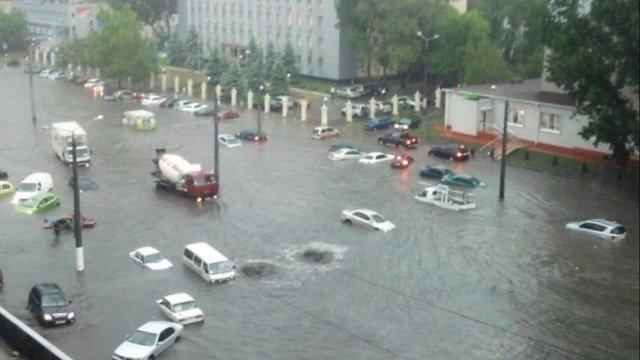 В Одесі за два дні випала двомісячна норма опадів