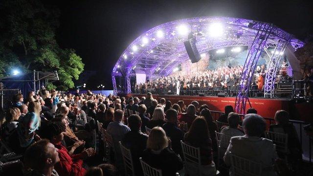 У Бродах відбувся грандіозний концерт пам'яті Йозефа Рота