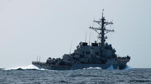 У Чорне море прямує американський есмінець USS Porter