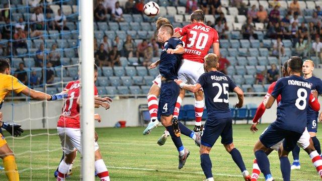 «Маріуполь» та «Зоря» зіграли внічию у матчах кваліфікації Ліги Європи