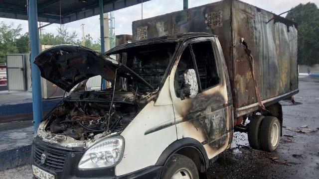 У Запоріжжі під час заправки автомобіля вибухнув газовий балон