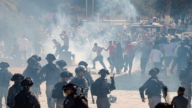 На Храмовій горі в Єрусалимі виникли сутички між мусульманами та ізраїльською поліцією