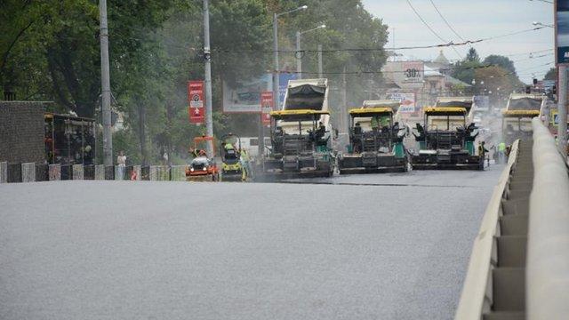 Проїзд мостом на вул. Городоцькій для транспорту відкриють із 15 серпня