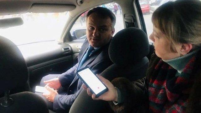 ЗМІ повідомили про штраф Олега Синютки за порушення ПДР в Івано-Франківську