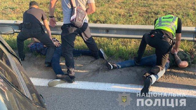 На Київщині за розбій затримали колишніх високопосадовців МВС Грузії