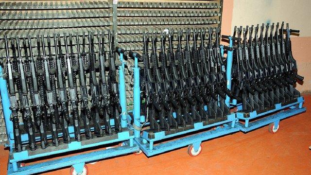 Україна отримала з Туреччини дві тисячі пістолетів-кулеметів MP-5