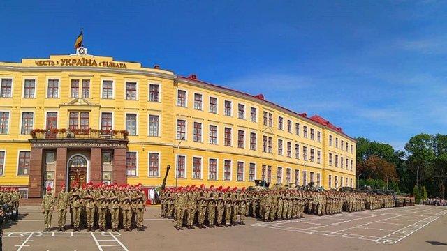 500 першокурсників Академії сухопутних військ склали присягу
