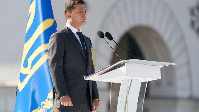 Зеленський у промові до Дня Незалежності жодного разу не згадав про Росію
