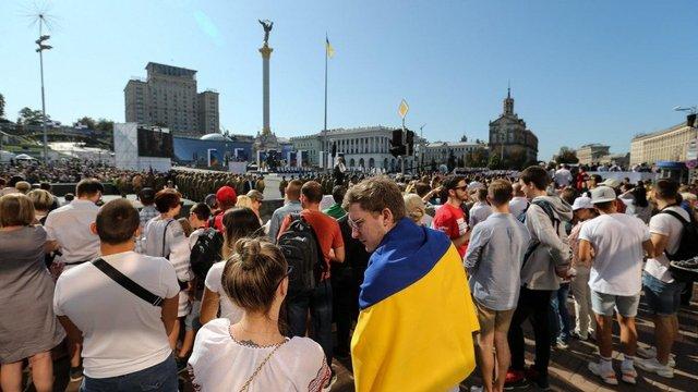 Під час урочистостей до Дня Незалежності поліція отримала повідомлення про замінування Майдану